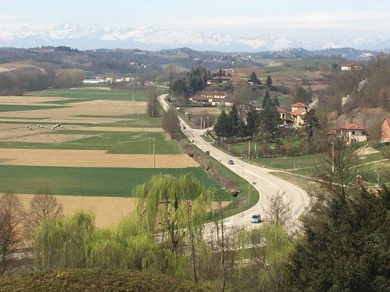 Fontanile, Italia: Breathtaking scenery