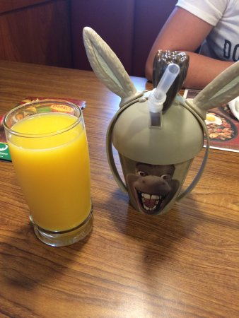 San Jacinto, Kalifornien: Donkey collectors cup.