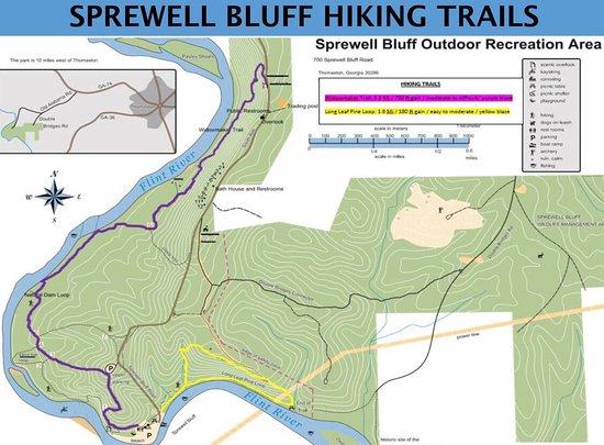 Thomaston, Τζόρτζια: Hiking trails