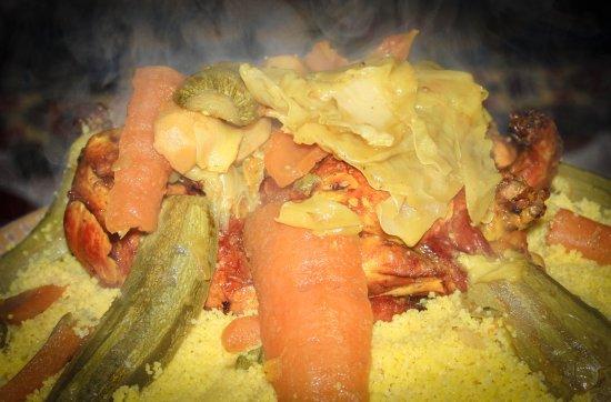 Oum Rabie - Restaurant & Bar: Couscous