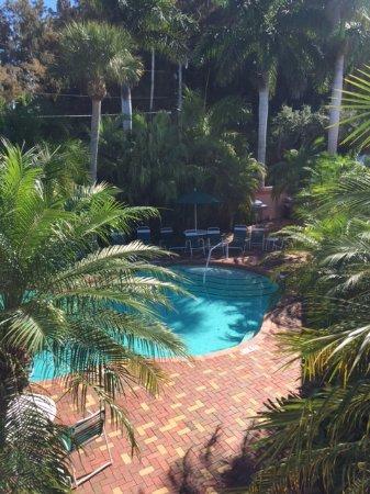 Siesta Key Inn : Beautiful view from balcony