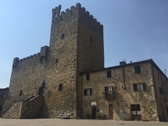 Take Me Out in Tuscany: The castle at Castellina in Chianti