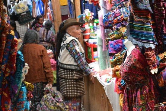 Solola, Γουατεμάλα: Au coeur du marché