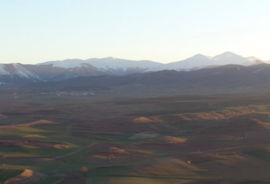 Azofra, Spagna: Paisaje de la zona