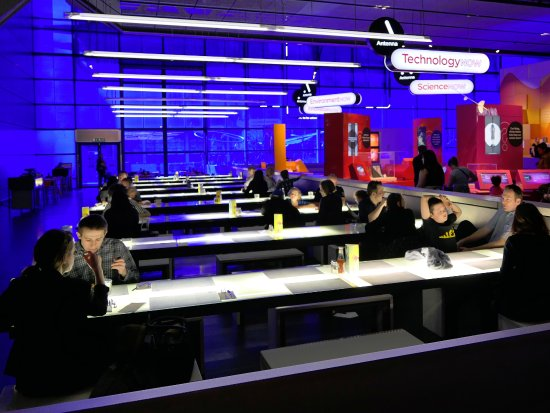 Deep Blue Restaurant @ Science Musuem