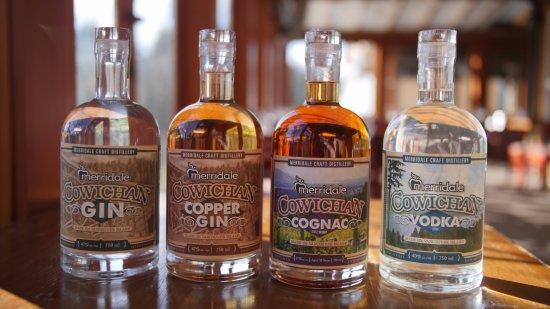 Cobble Hill, Canada: Merridale Cowichan Spirits