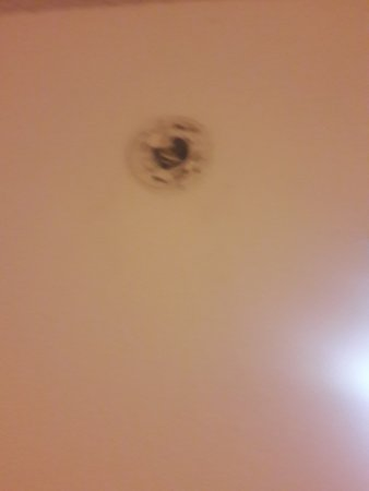 Days Inn Jacksonville South / Near Memorial Hospital: Where the smoke detector supposed to be!