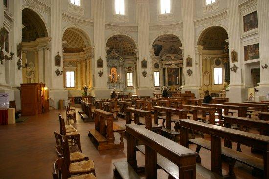 Busseto, Italie: ensemble de chapelles gauche