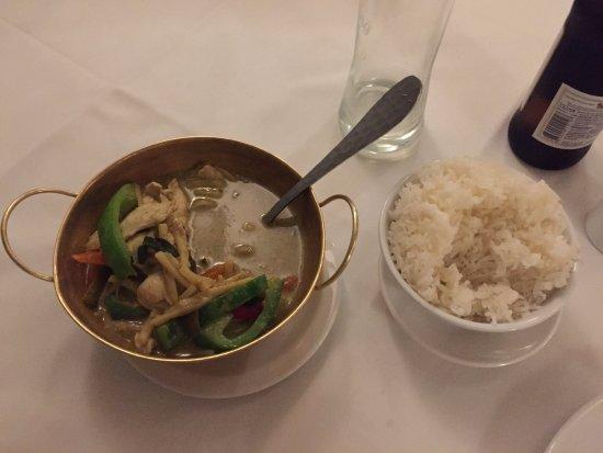 Siam Garden: Green curry
