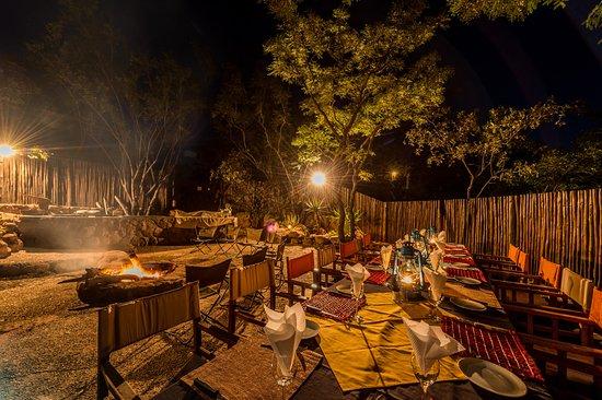 Welgevonden Game Reserve, South Africa: Boma Dinner