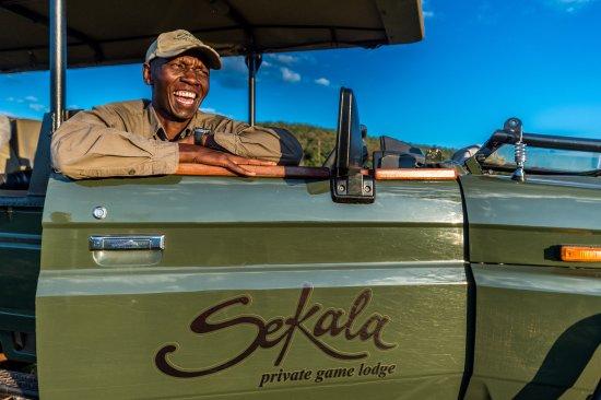 Welgevonden Game Reserve, South Africa: Game Ranger - Patrick