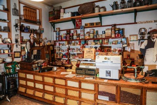 Coleman, Canada: General Store Exhibit