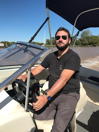 Bonaventura Trips - Private Tours: Good times with are favourite tour guide Tomas on the Delta!!