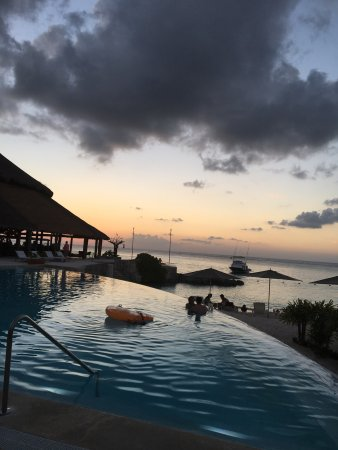 Beautiful resort and most gorgeous sunsets
