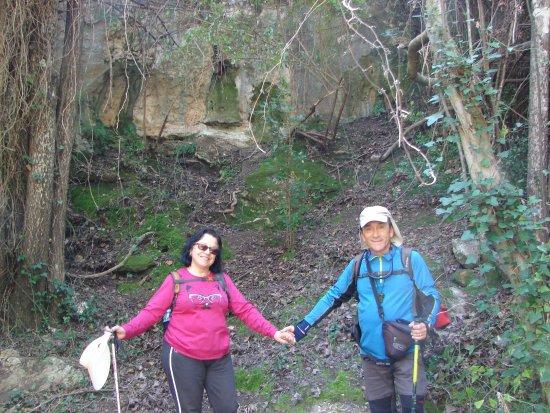 Burunchel, Spain: Con mi esposa los dos somos responsables del grupo