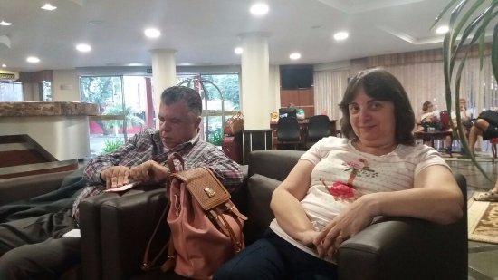 Hotel Rafain Centro: Salas aconchegantes e bem arejadas