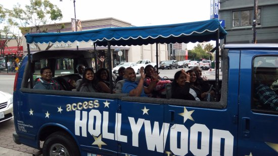 Access Hollywood Tours Enjoy A Private Bus Tour With Your Family Or Friends