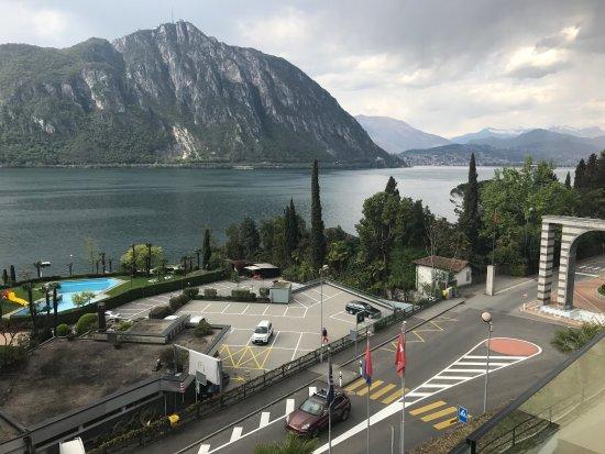 Bissone, Ελβετία: Hotel Campione