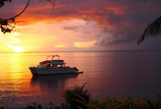 Paradise Taveuni: Sunset in Paradise