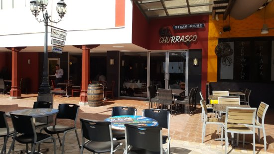 El Churrasco: A view of the restaurant.