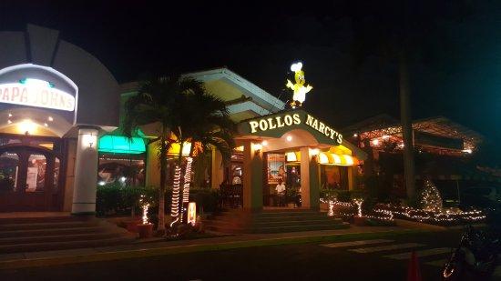 Pollos Narcy's: At the entrance.