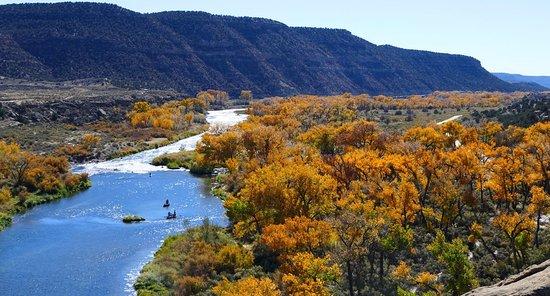 Navajo Dam, Nuevo Mexico: The San Juan River