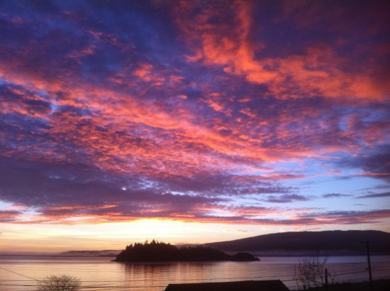 Haida Gwaii (Queen Charlotte Islands), Kanada: Sunrise
