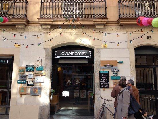 Restaurante lavietnamita st antoni en barcelona con cocina - Restaurante vietnamita barcelona ...