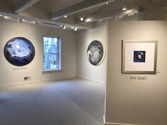 Chestertown, MD: FULL CIRCLE exhibition by artists Greg Mort and Jon Mort at the Carla Massoni Gallery