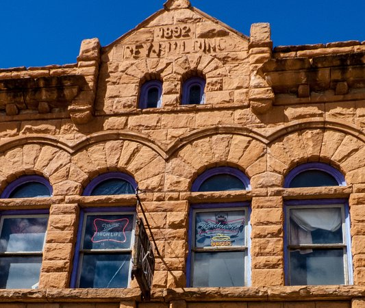 Rico, CO: If only the building could talk...