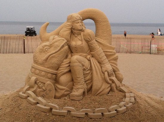 Hampton Falls, NH: Hampton Beach Sand Sculptures