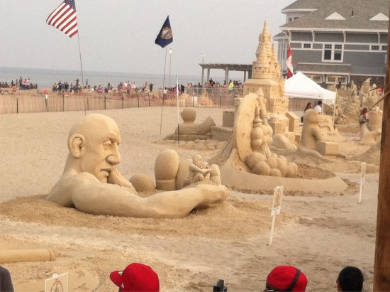 Hampton Falls, Nueva Hampshire: Hampton Beach Sand Sculptures