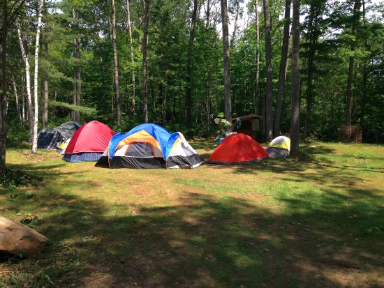 Bancroft, Canadá: Camping