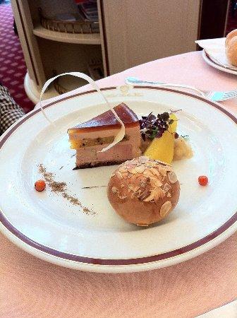 Restaurant Rote Bar : Fois Gras Appetizer