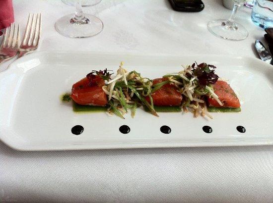 Restaurant Rote Bar : Tuna Appetizer