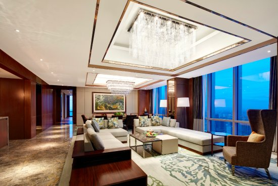 Presidential Suite\'s Living Room - Picture of The Westin Jakarta ...