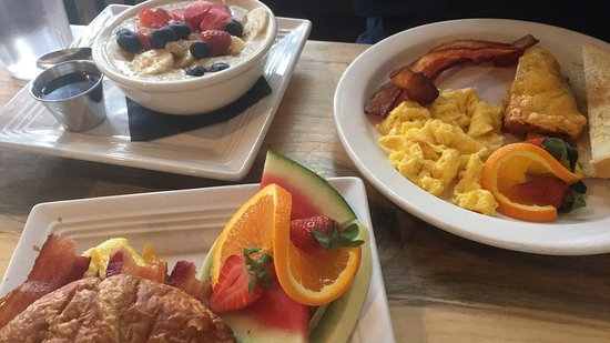 Palmer Lake, Kolorado: yummy breakfast