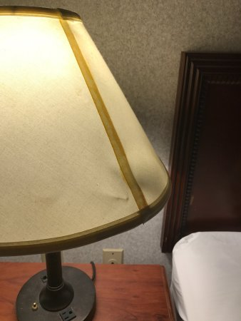Fords, NJ: Old, worn out lamp shades