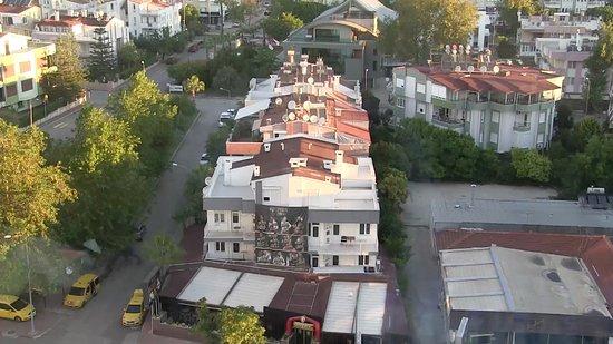 The Marmara Antalya: View from a city-side room at the Marmara, Antalya