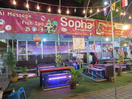 Kalare Night Bazaar: 10FishiSpa