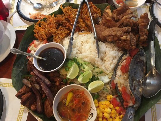 Best Filipino Restaurant Review Of D Pinoy Joint Las