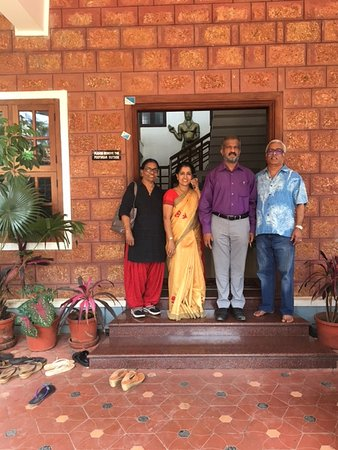 Kannur Ayurvedic Centre: The Doctor couple, who are so friendly