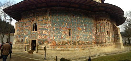 The Painted Monasteries of Bucovina: Painted Monastery