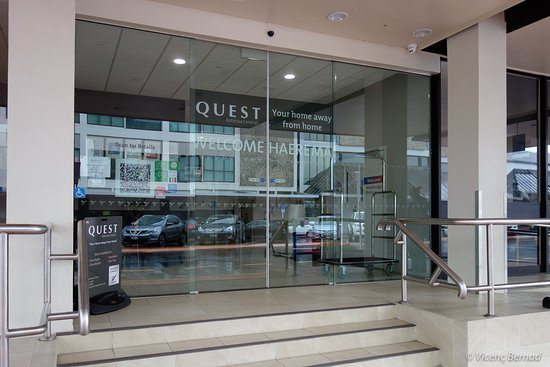 Quest Rotorua Central : Main entrance