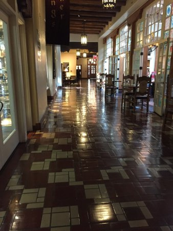 La Fonda on the Plaza: Along the Plazuela Restaurant