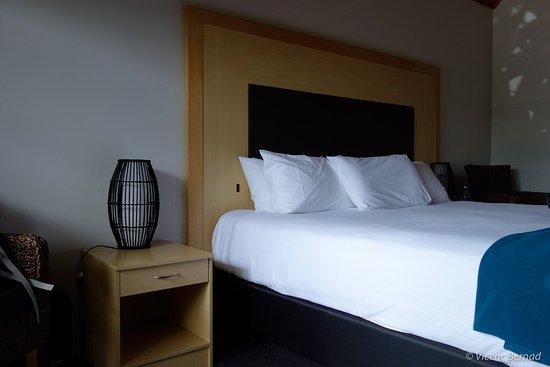 Omapere, Nuova Zelanda: Big bed