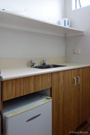Omapere, Nuova Zelanda: No kitchen