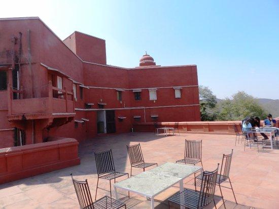 Castle Jhoomar Baori: 2nd Floor Terrace