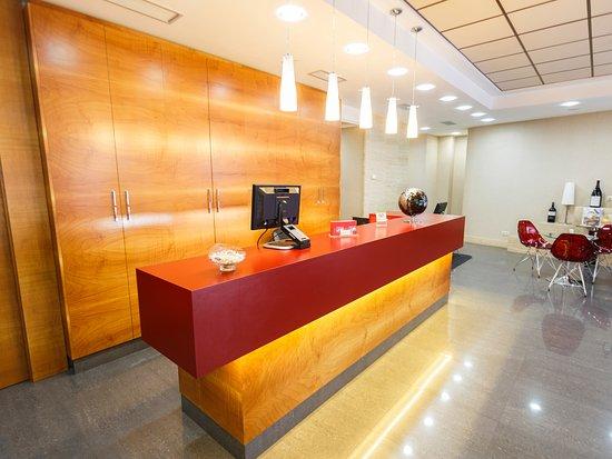 Hotel Condes de Haro : Recepción hotel