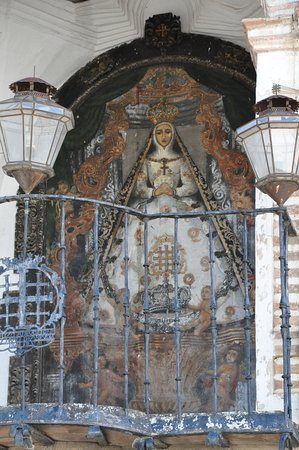 Portichuelo Chapel - Virgen del socorro chapel.